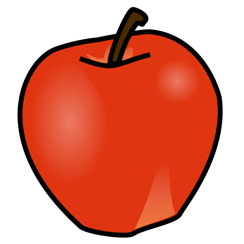 Apple clipart no border picture black and white library Apple Clipart Free at GetDrawings.com | Free for personal use Apple ... picture black and white library