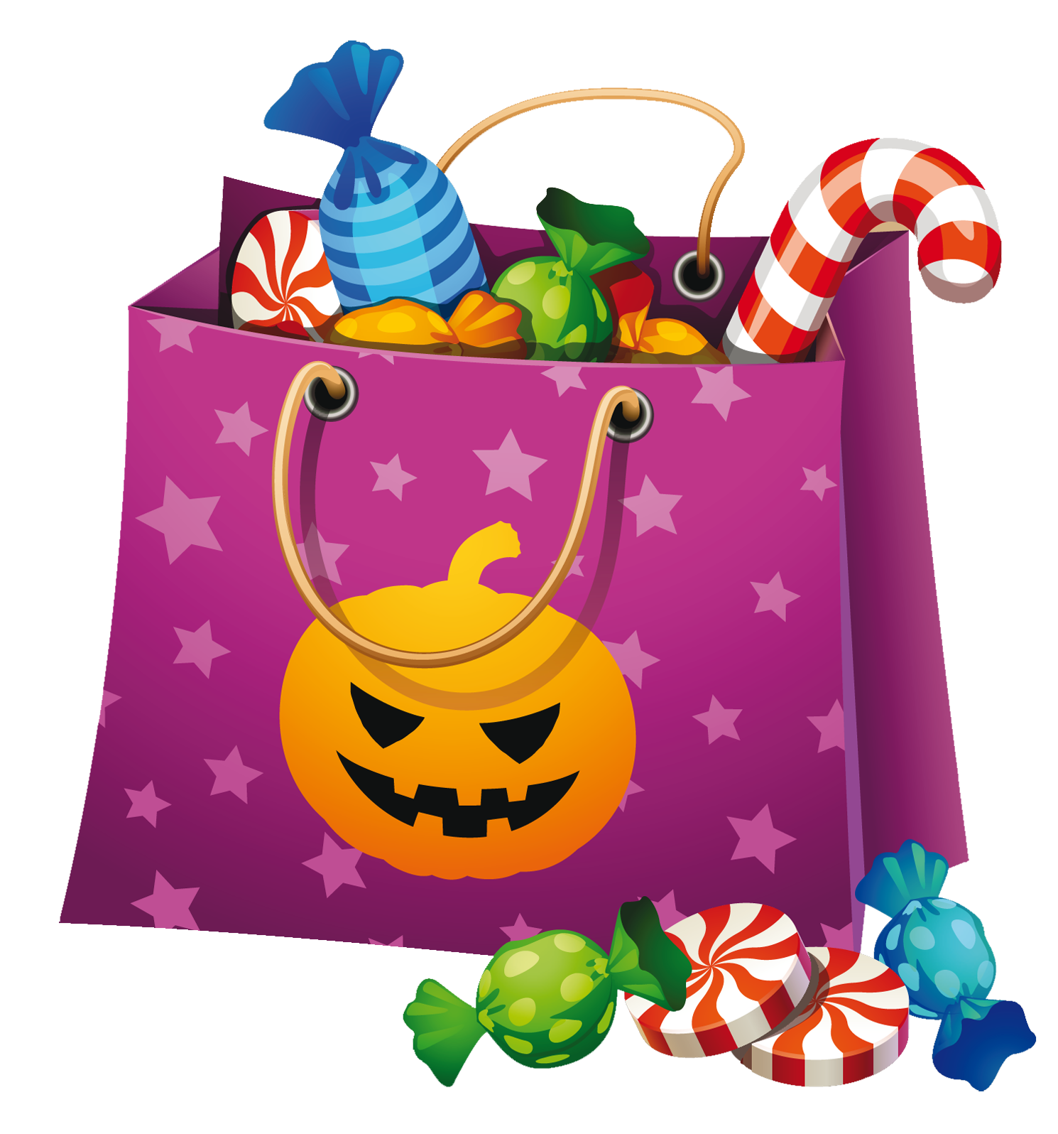 Halloween trick or treat clipart svg freeuse download Halloween Png Candy Bag Clipart | clip art | Pinterest | Halloween ... svg freeuse download