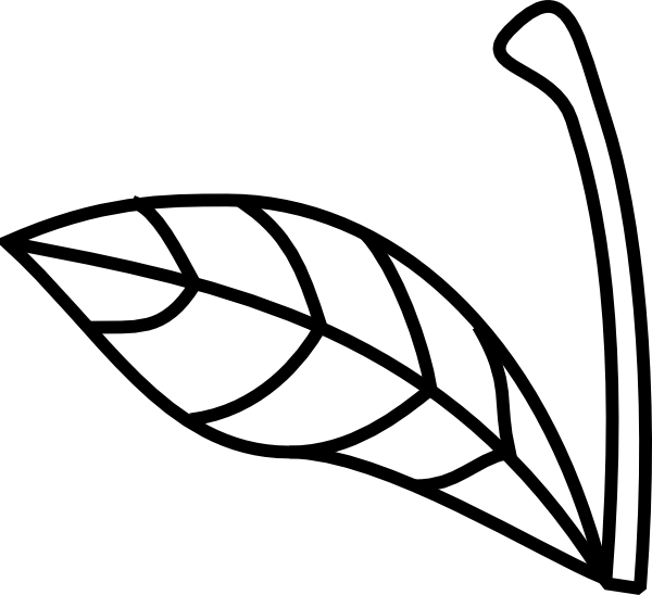 Apple leaf clipart black and white clip art library stock Apple Stem Leaf Clip Art at Clker.com - vector clip art online ... clip art library stock