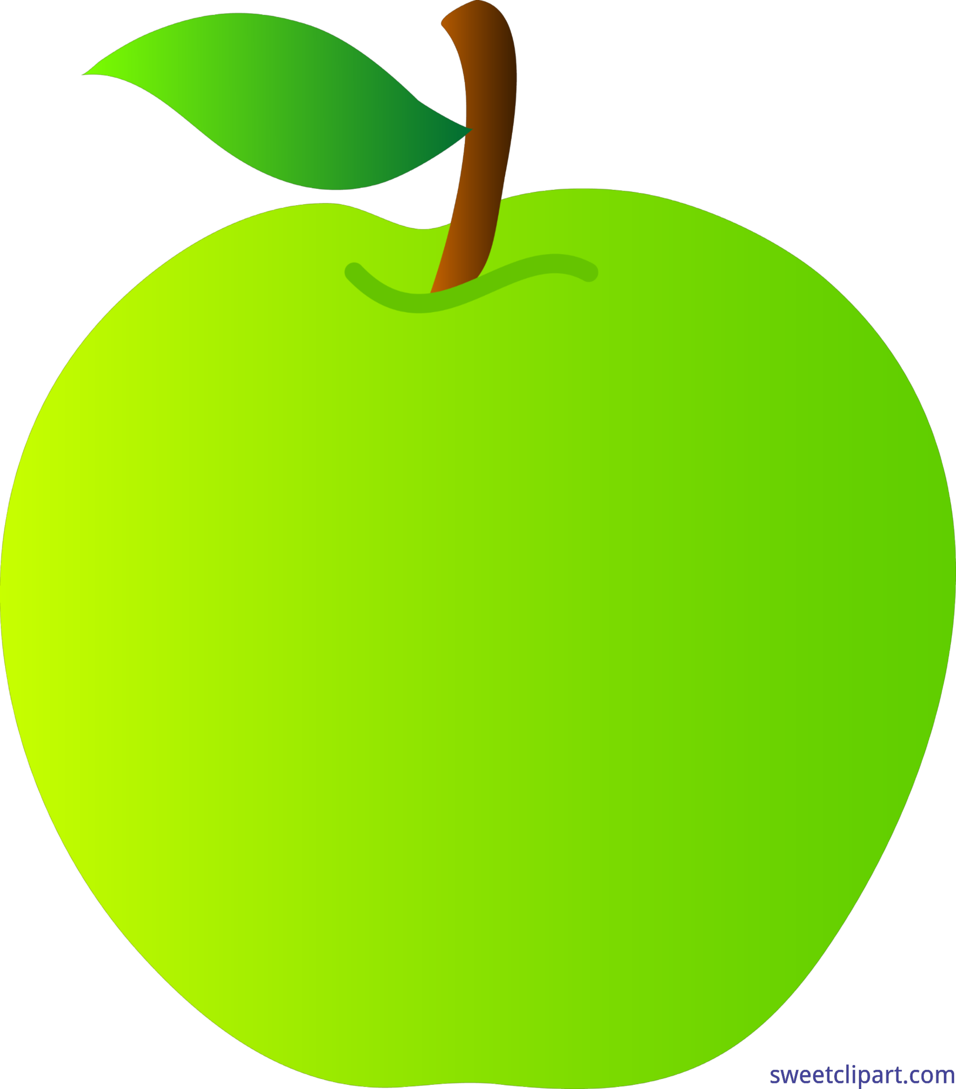 Apple and pear clipart image transparent library Apple Green Clip Art - Sweet Clip Art image transparent library
