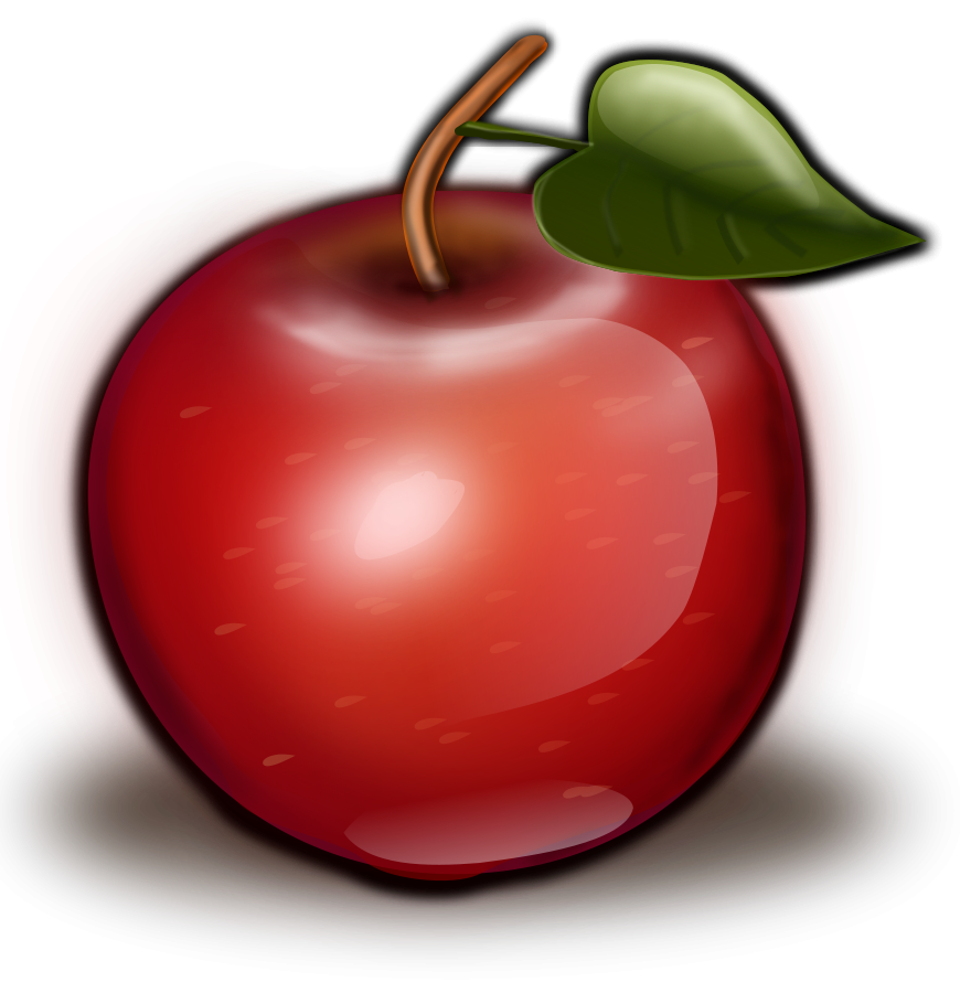 Apple clipart images graphic royalty free library red apple clipart - Free Large Images | Clipart | Pinterest | Red apple graphic royalty free library