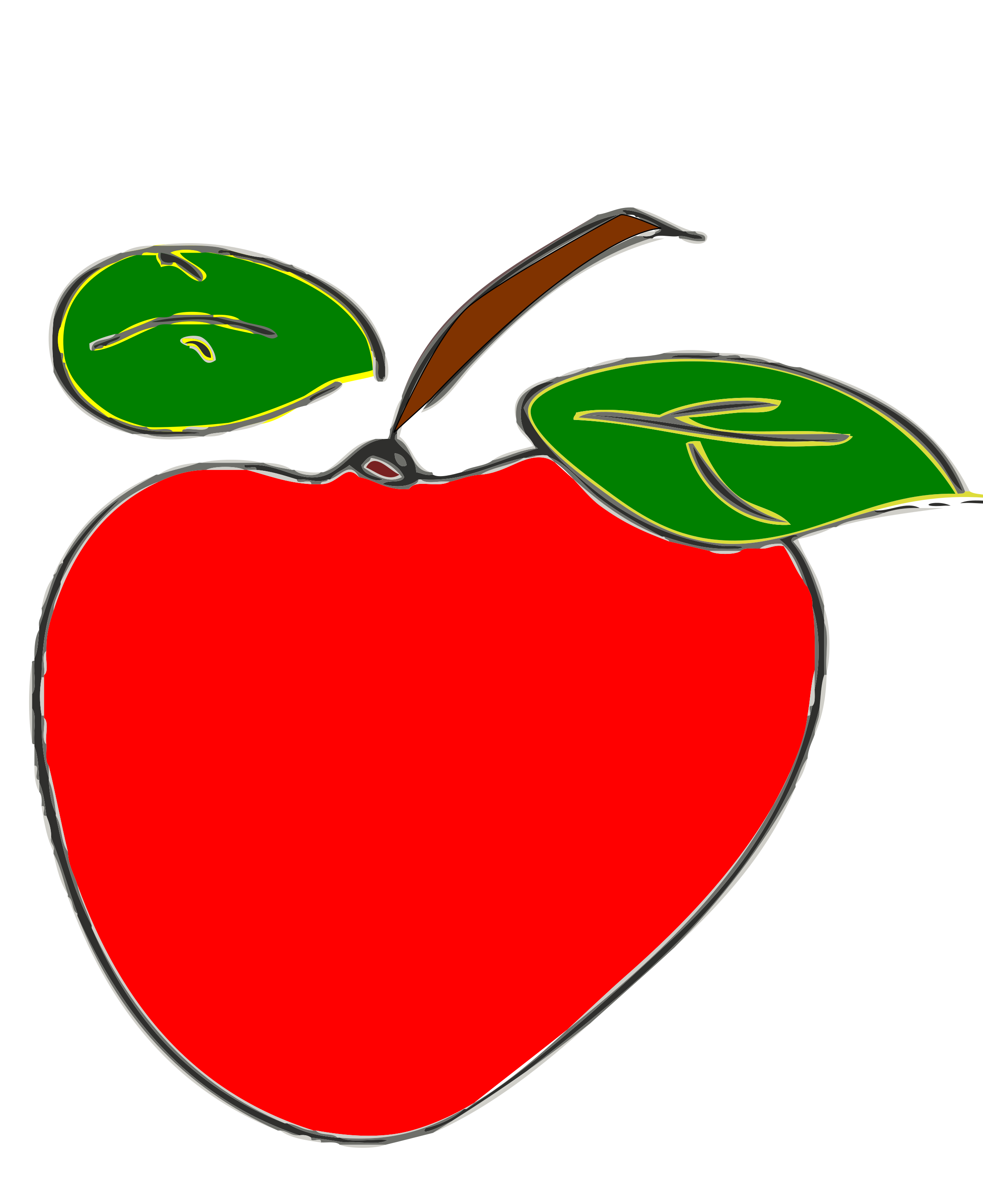 Apple clipart two leaves png transparent Clipart - manzana png transparent