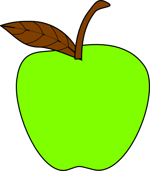 Apple and pear clipart banner free stock Apple Clip Art at Clker.com - vector clip art online, royalty free ... banner free stock