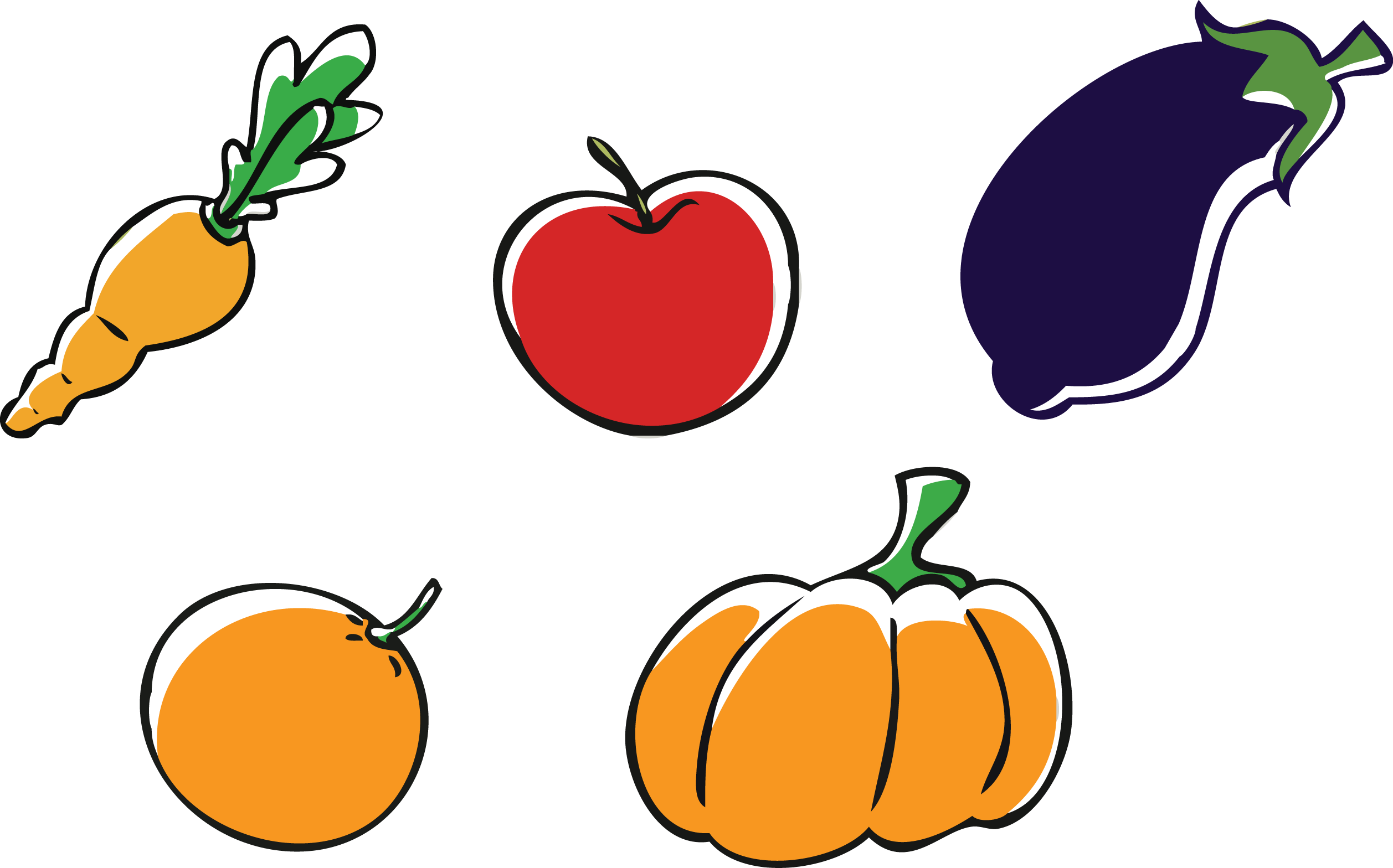 Pumpkin hanging clipart png download Fruit And Veggie Clipart at GetDrawings.com | Free for personal use ... png download