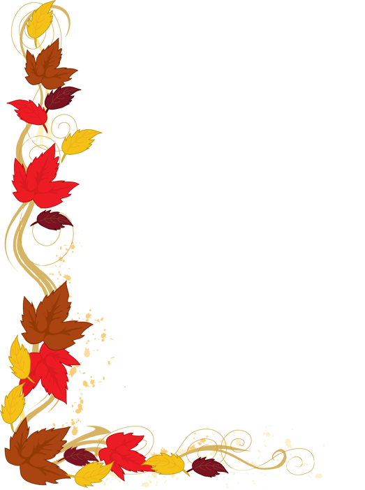 Clipart card border thanksgiving picture transparent download Web Design & Development | Pinterest | Clip art, Leaves and Autumn picture transparent download