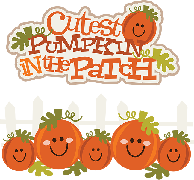 Halloween clipart cute pumpkin svg free stock Cutest Pumpkin In The Patch SVG pumpkin clipart cute pumpkin clipart ... svg free stock