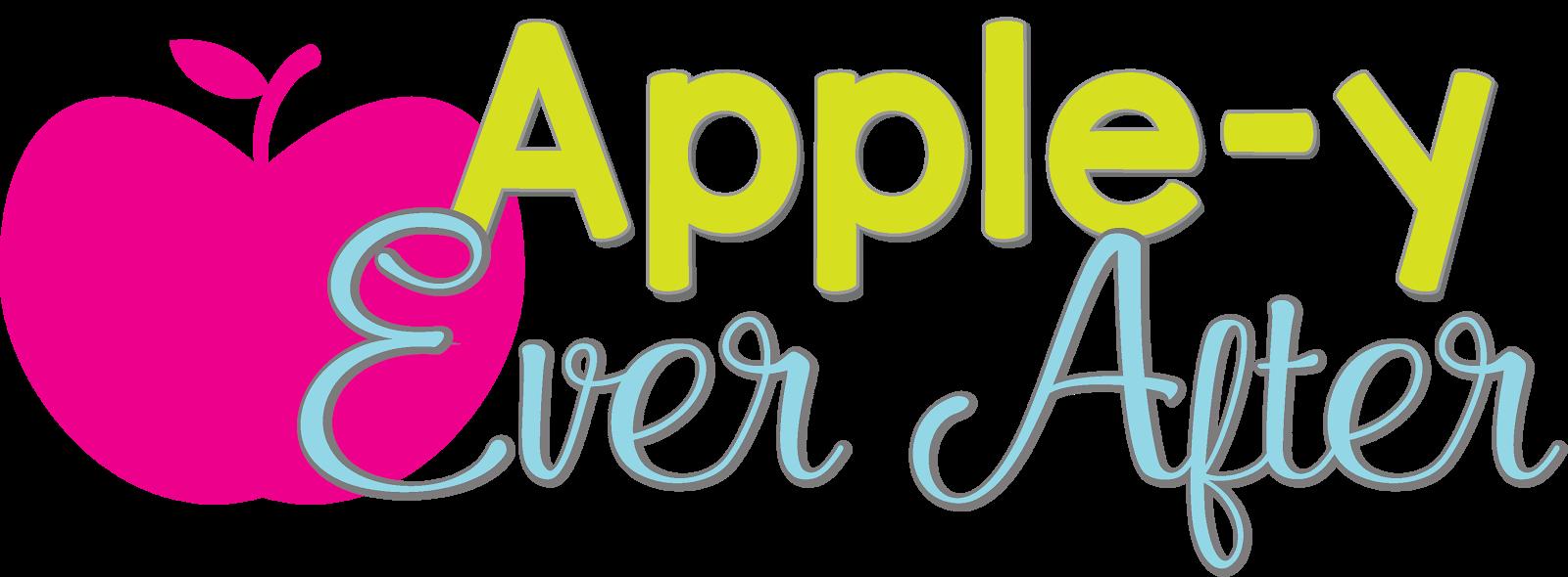 Apple parts clipart svg Apple-y Ever After! svg