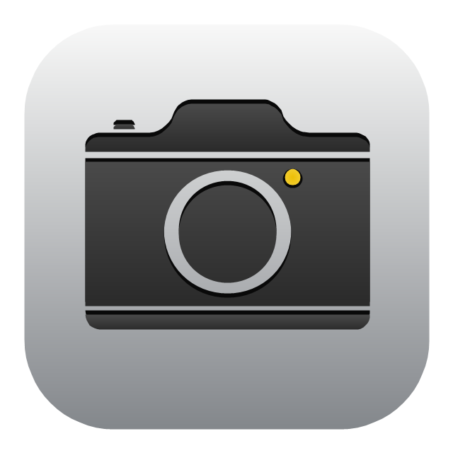 Camera clipartfest icon. Apple app clipart