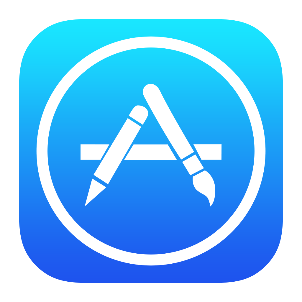 Apple app clipart svg transparent AppStore Icon PNG Image - PurePNG | Free transparent CC0 PNG Image ... svg transparent