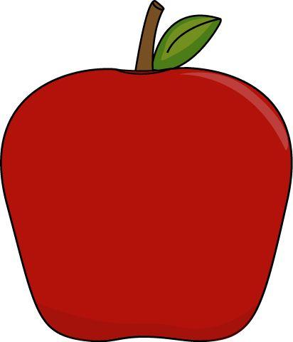 Big clip art image. Apple apple clipart