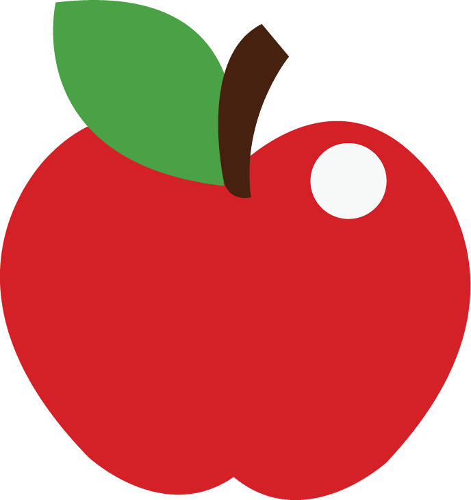 Disney apple clipart