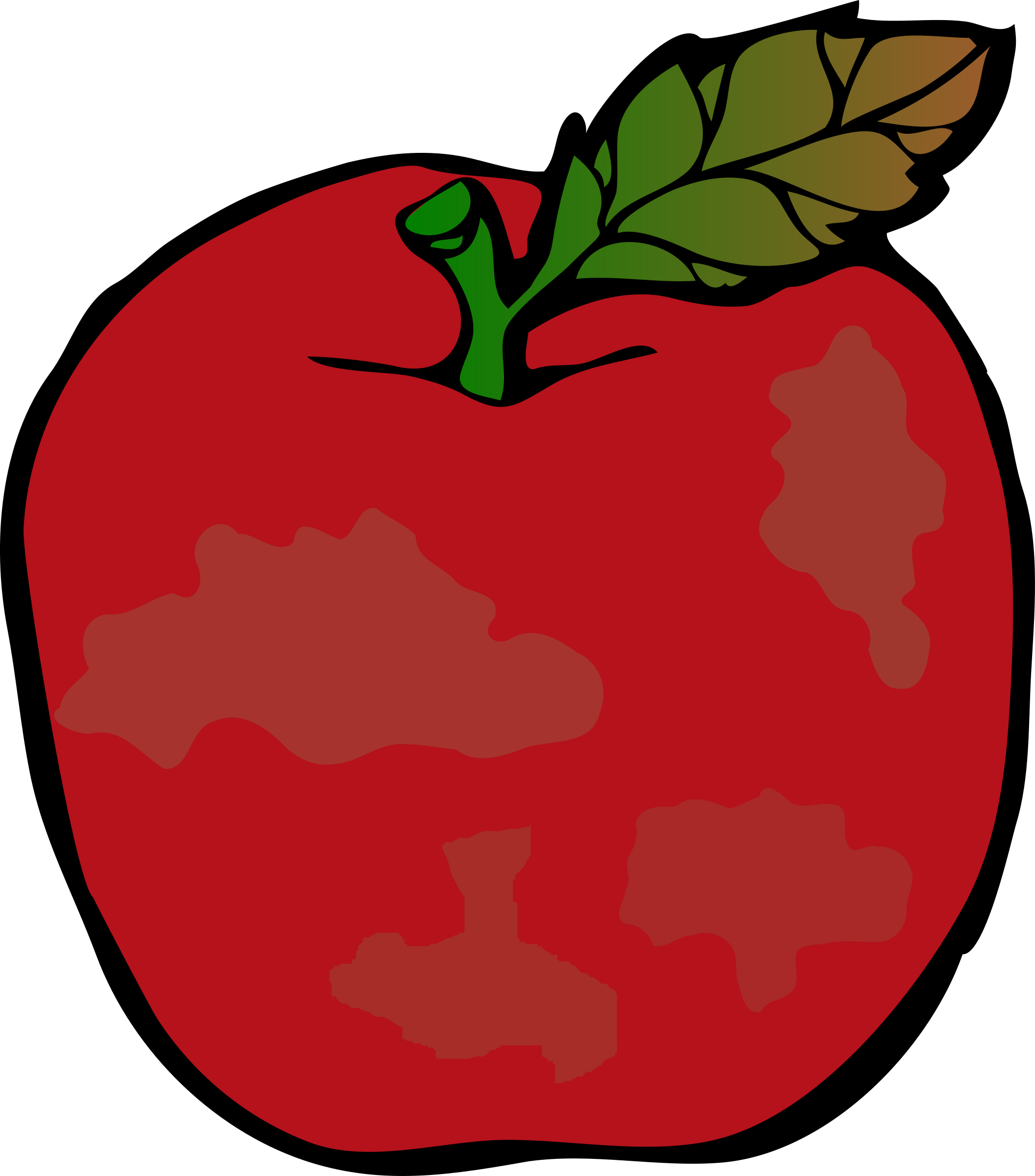 Apple core clipart free image royalty free stock Clipart - Rotten Apple image royalty free stock