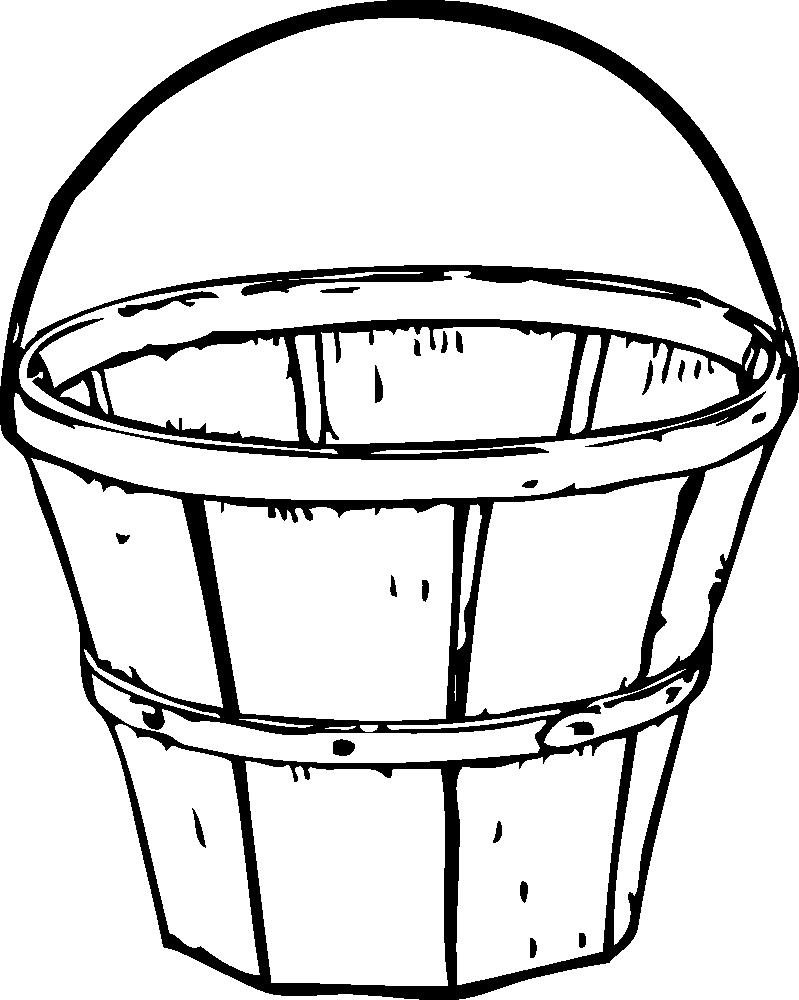 Apple picking clipart black and white jpg Apple Basket Clipart | Clipart Panda - Free Clipart Images jpg