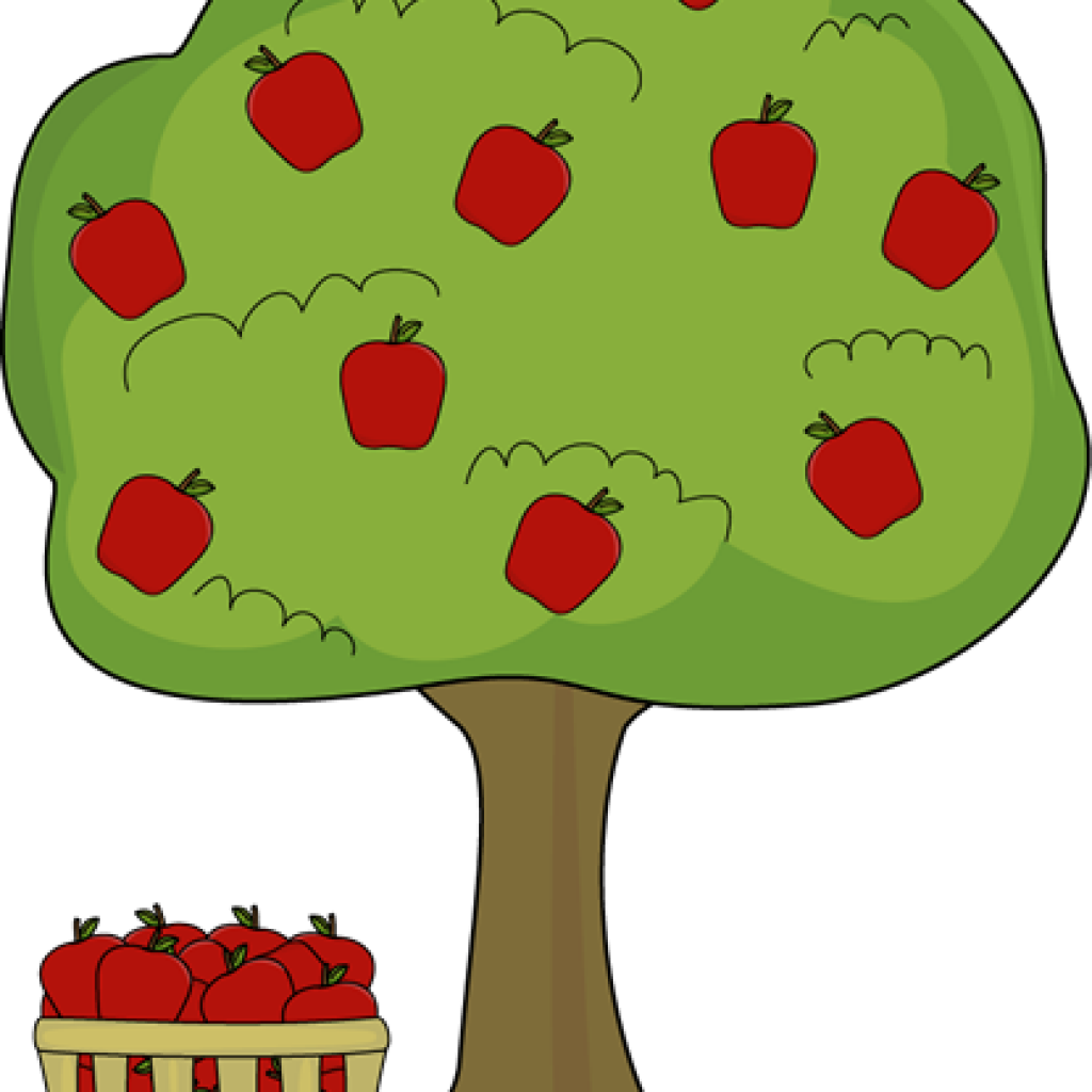 Apple tree clipart free svg freeuse Apple Basket Clipart elephant clipart hatenylo.com svg freeuse