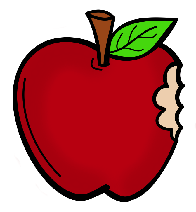 Apple with bite out of it clipart vector royalty free download Johnny Appleseed! A Famous American vector royalty free download
