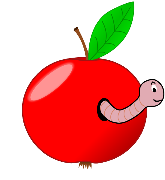 Free clipart apple picking banner library Apple Worm Clip Art | Clipart Panda - Free Clipart Images banner library