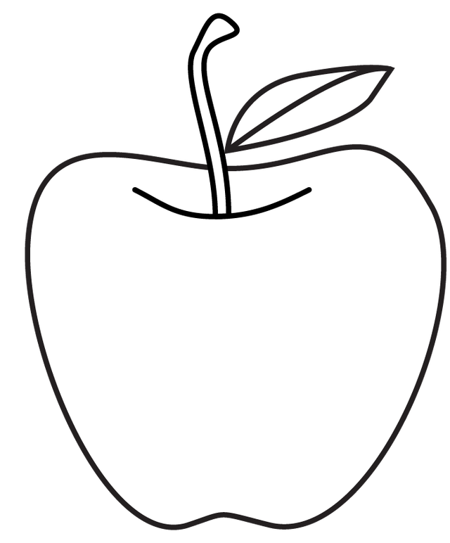 Apple leaf clipart black and white png freeuse stock Search for Apple drawing at GetDrawings.com png freeuse stock