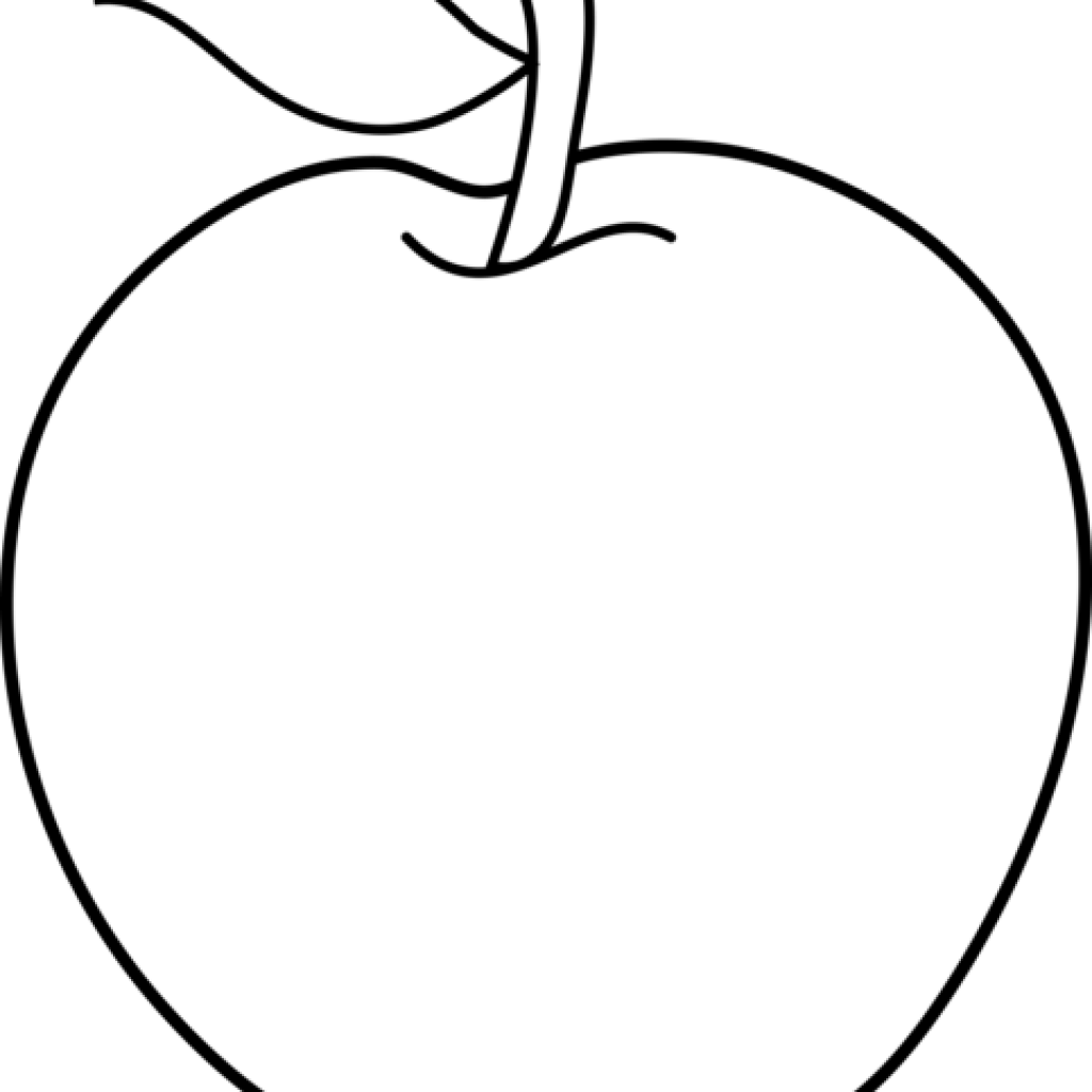 Black apple clipart svg royalty free download Apple Clipart Black And White rainbow clipart hatenylo.com svg royalty free download