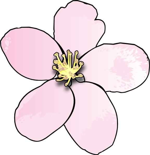 Flower clipart jpg. Apple blossom at getdrawings