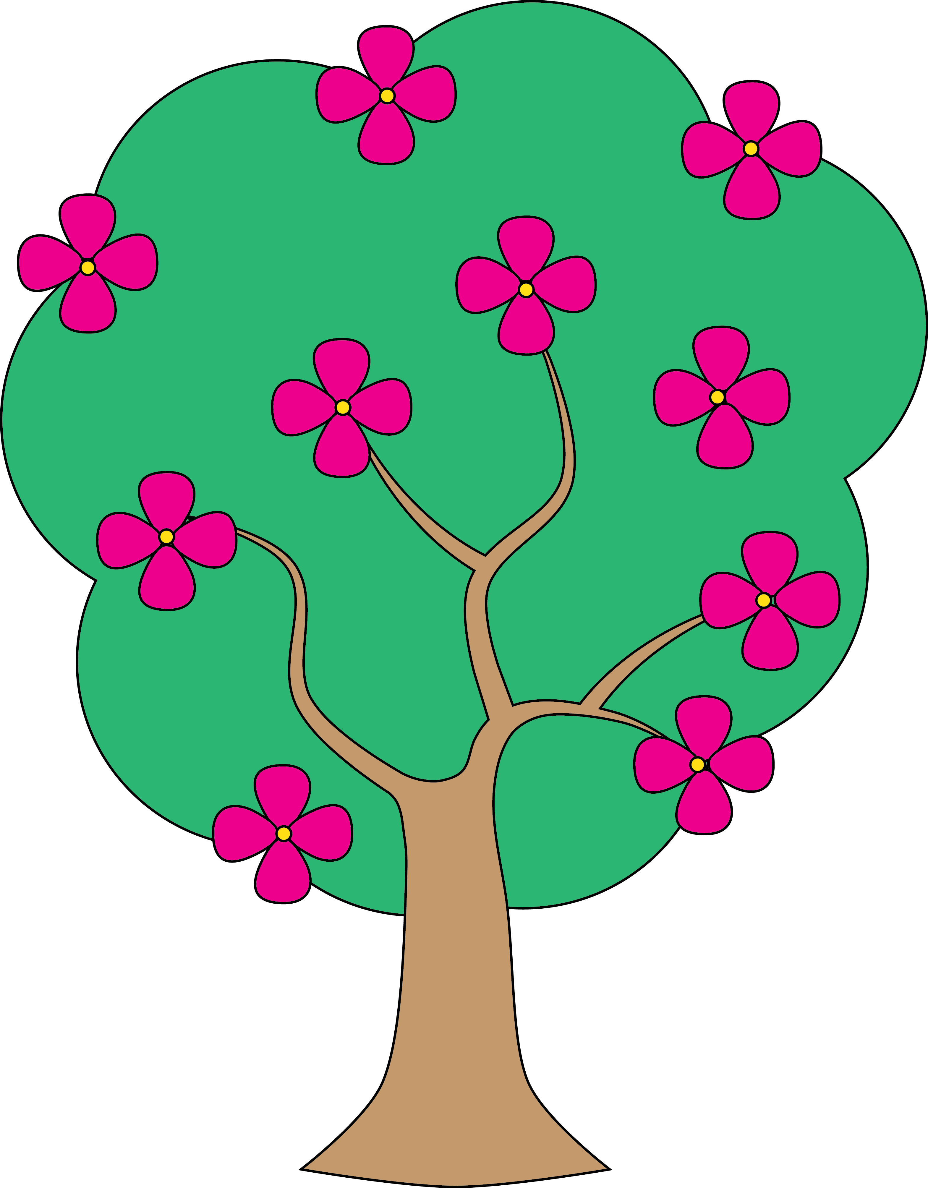 Apple blossom flower clipart picture transparent 28+ Collection of Tree Flower Clipart | High quality, free cliparts ... picture transparent