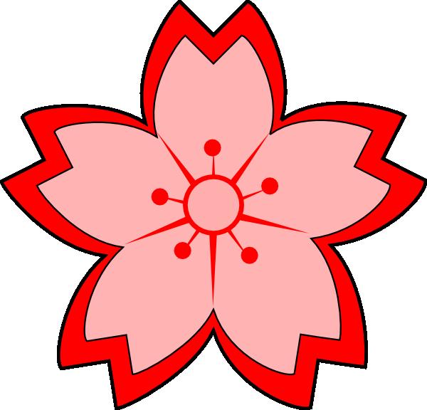 Apple blossom flower clipart png download Cartoon Sakura Blossom Clip Art at Clker.com - vector clip art ... png download