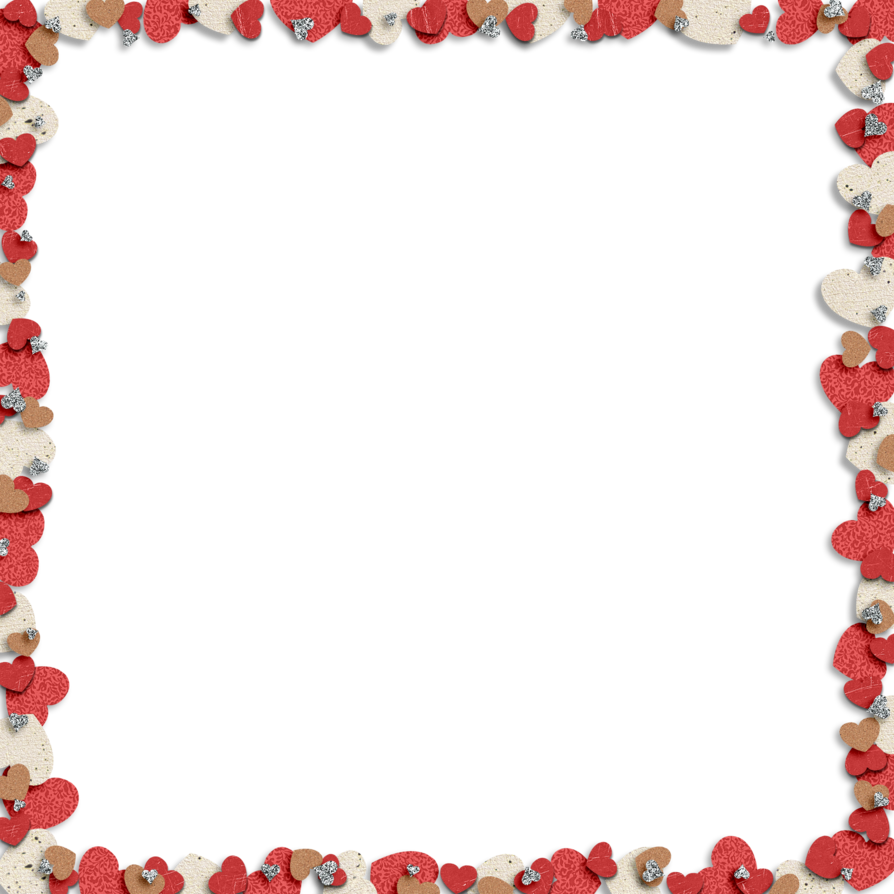 Free heart border clipart clipart royalty free download Heart Border by HGGraphicDesigns on DeviantArt clipart royalty free download