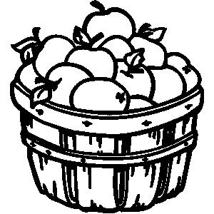 Apple bushel basket clipart vector transparent download Free Apple Basket Cliparts, Download Free Clip Art, Free Clip Art on ... vector transparent download