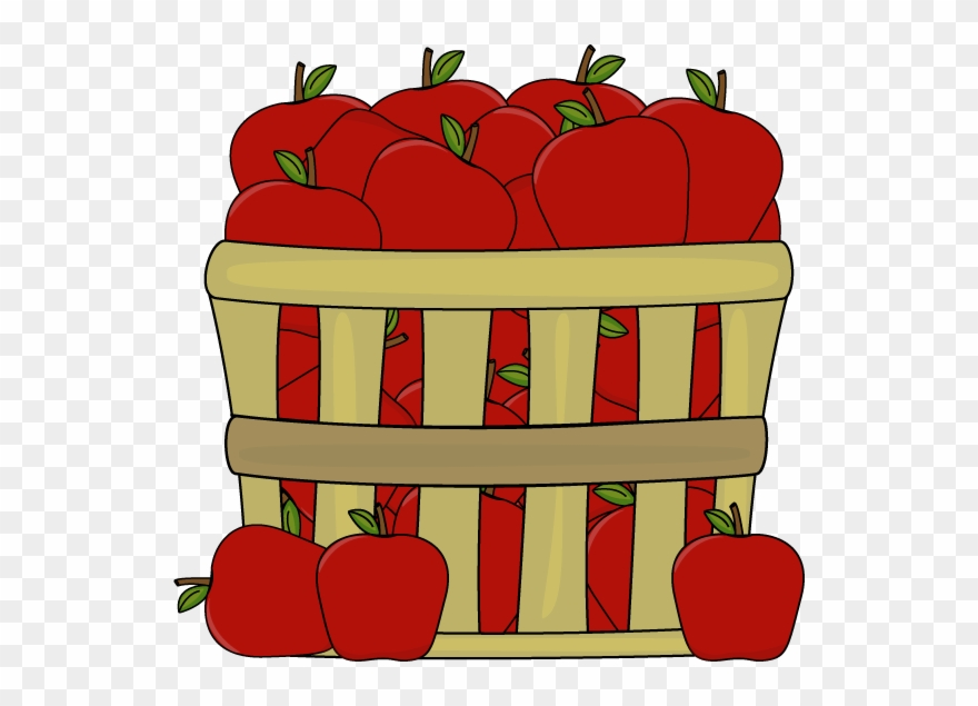 Apple bushel basket clipart clip library stock Clipart Of Few, Apple And Baskets - Basket Of Apples Clipart - Png ... clip library stock
