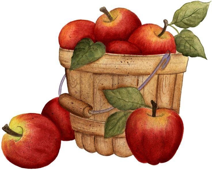 Apple bushel basket clipart vector freeuse library Best Apple Basket Clipart #21649 - Clipartion.com vector freeuse library