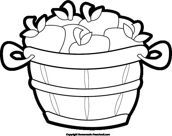 Apple bushel basket clipart svg library Bushel Of Apples Clipart   Clipart Panda - Free Clipart Images ... svg library