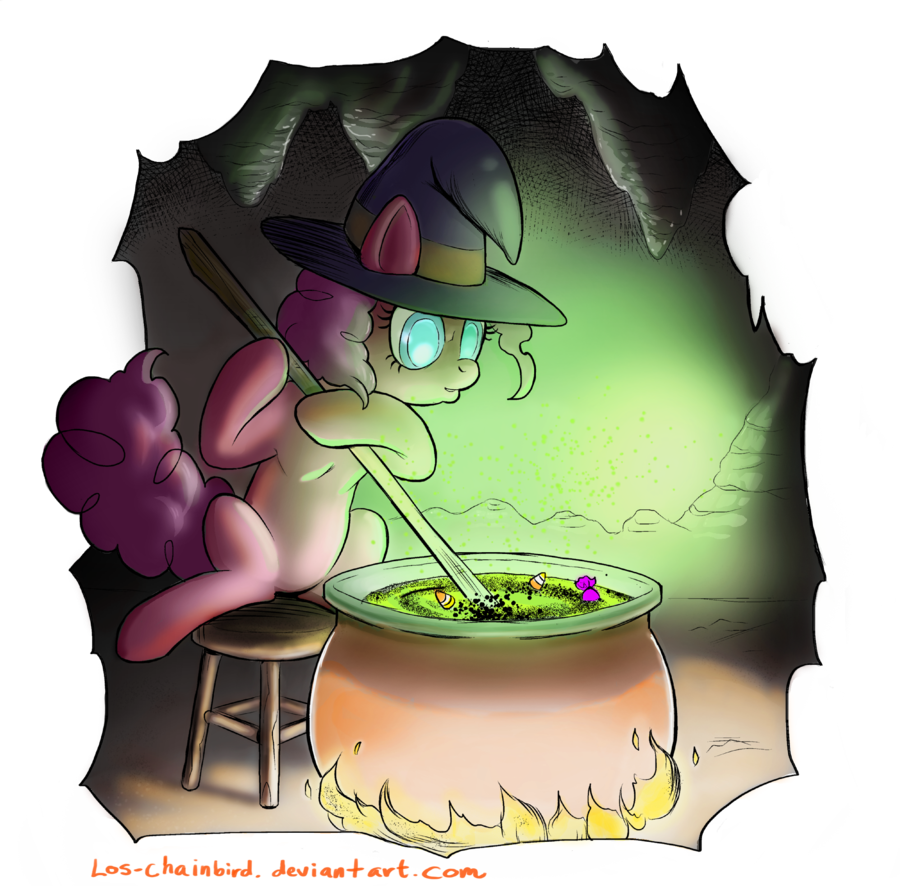 Apple butter cauldron clipart graphic library Silly Halloween Pony by Los-Chainbird on DeviantArt graphic library