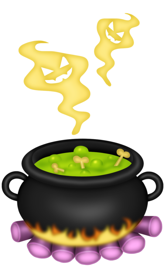 Apple butter cauldron clipart black and white Potion Witchcraft Halloween Clip art - cauldron 540*900 transprent ... black and white