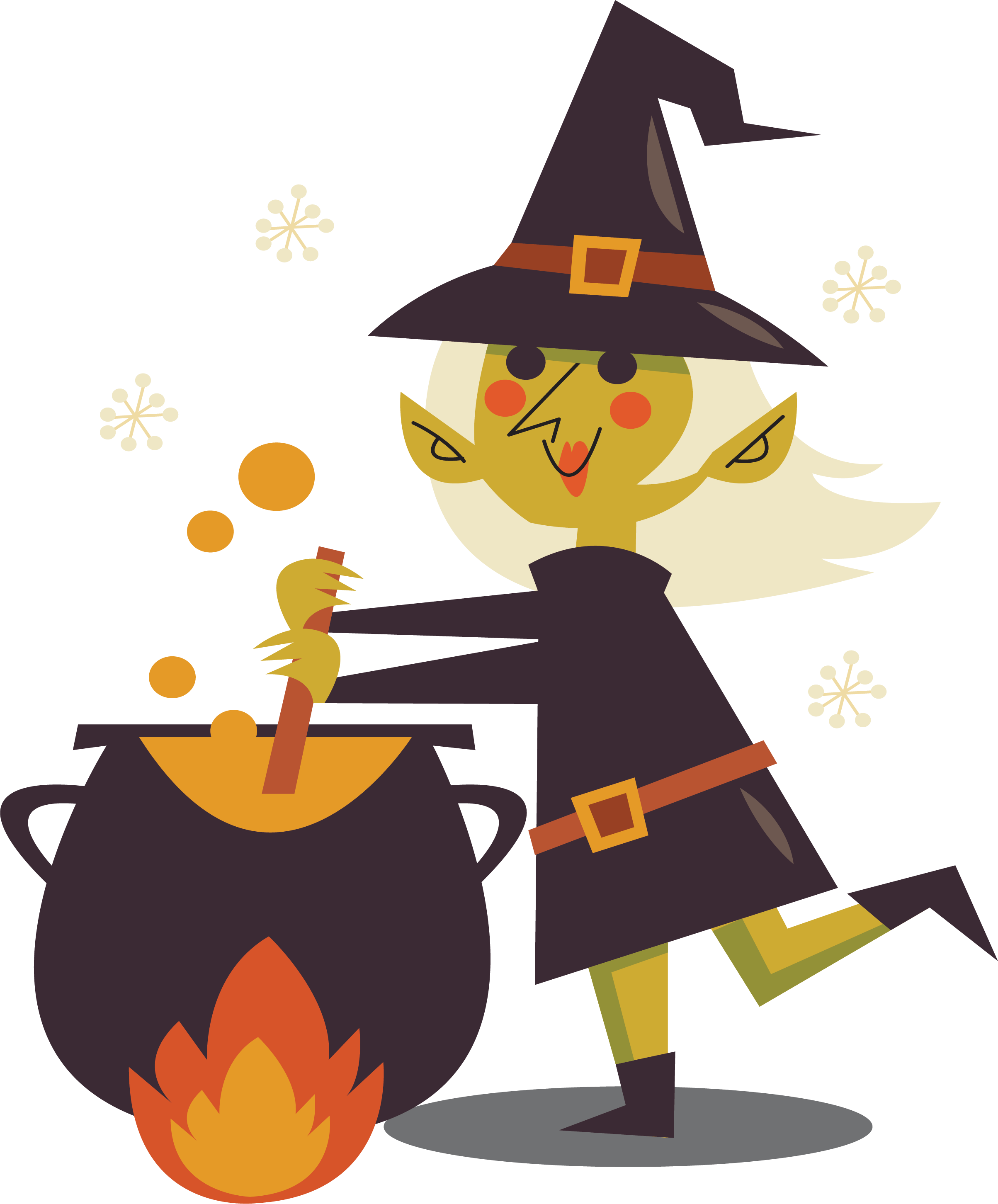 Halloween potion clipart picture library library Witch Potion Clip art - The witch who boils potions 2407*2904 ... picture library library
