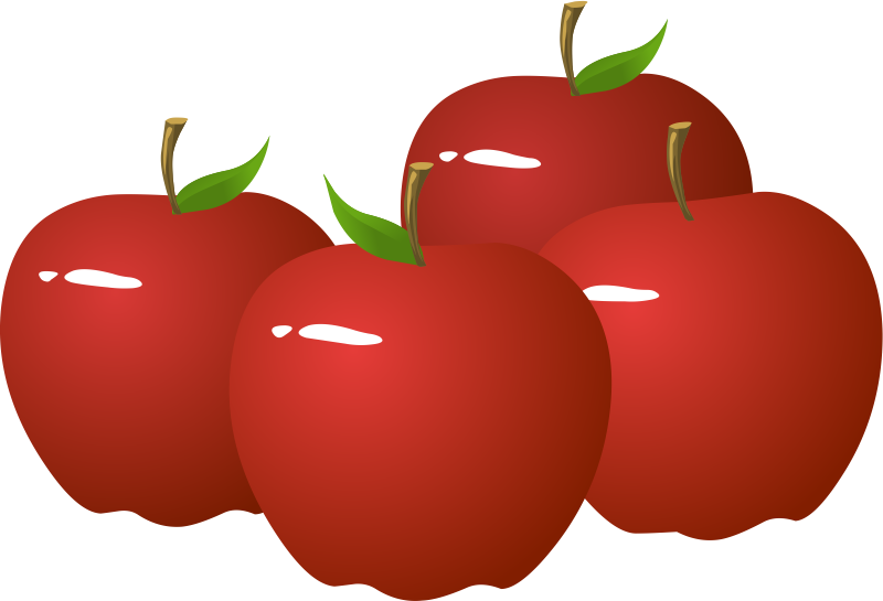 White apple clipart free banner royalty free library  banner royalty free library