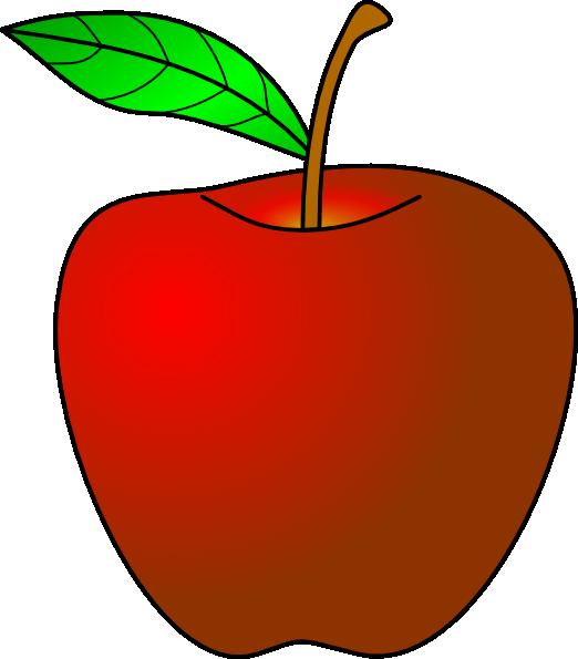 Happy apple clipart svg Apple Clip Art at Clker.com - vector clip art online, royalty free ... svg