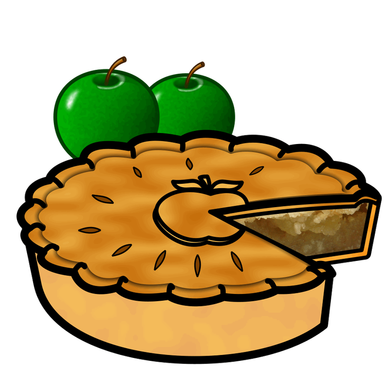 Apple pit clipart vector free Apple pie Pumpkin pie Buko pie Clip art - apple 800*800 transprent ... vector free