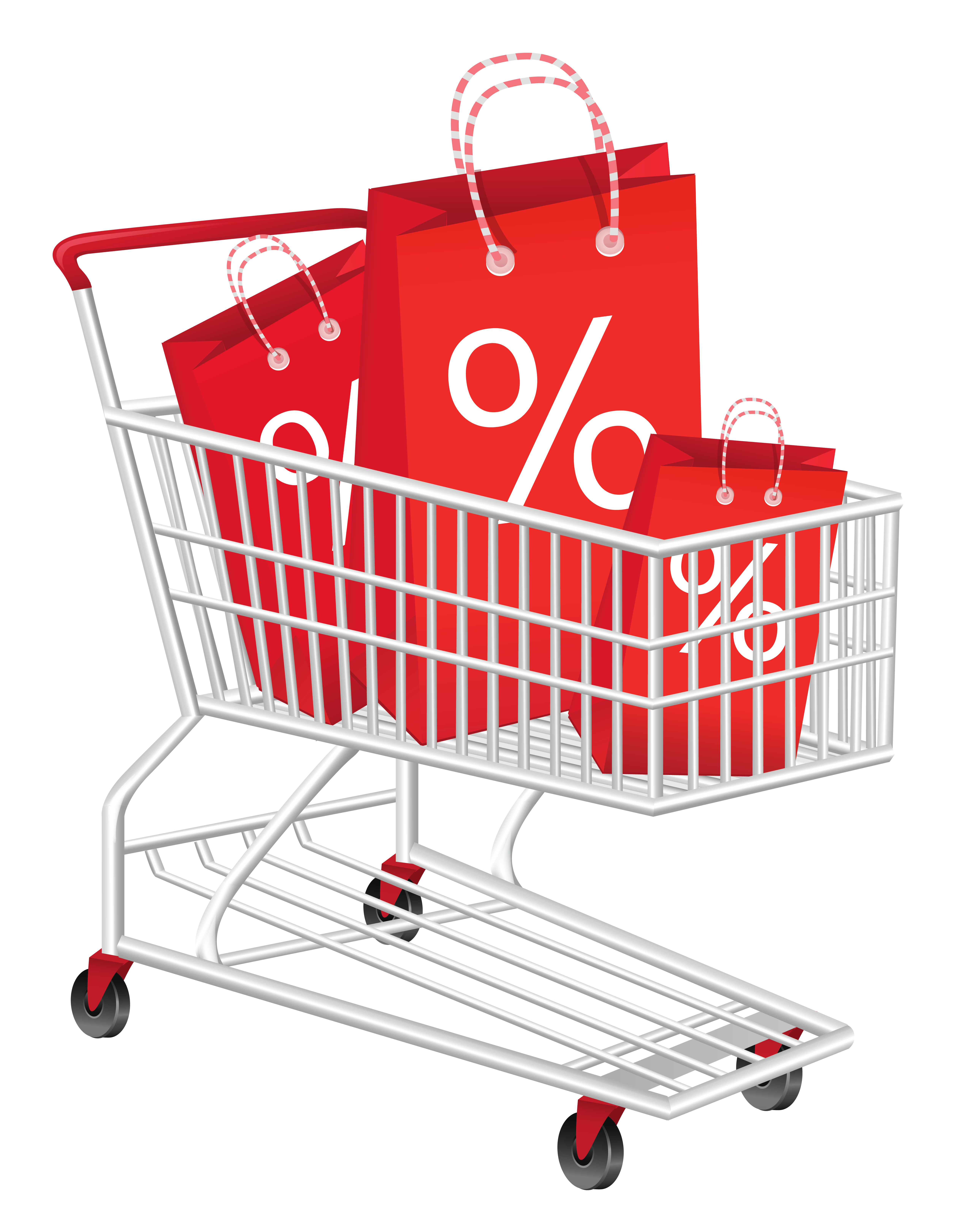 Book cart clipart vector freeuse library Discount Shopping Cart Clipart PNG Picture | 시도해 볼 프로젝트 ... vector freeuse library