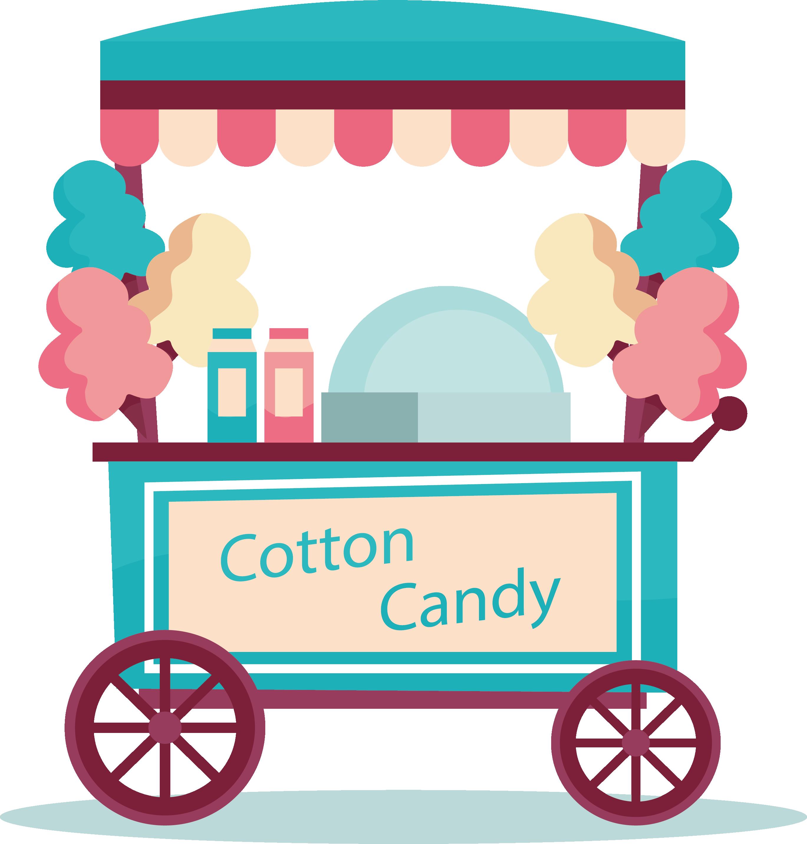 Apple cart clipart transparent download Cotton candy Candy cane Lollipop Sweetness Clip art - Green cotton ... transparent download