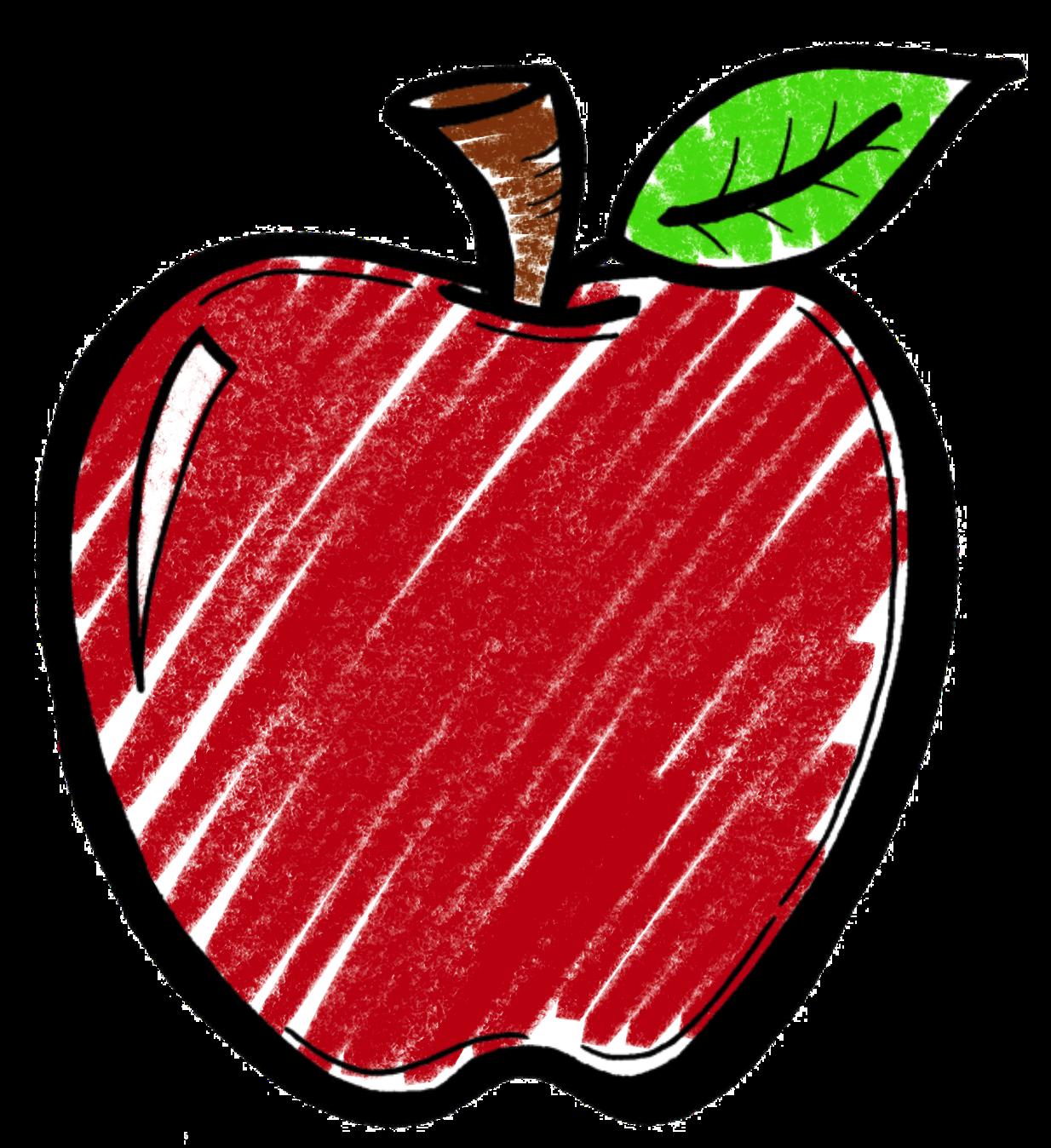 Apple clipart chalkboard image download Apple Clipart Chalkboard #2311359 image download