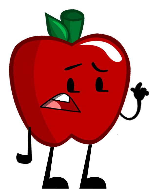 Apple clipart happy clip art freeuse stock Image - Apple Pose.png | Object Shows Community | FANDOM powered by ... clip art freeuse stock