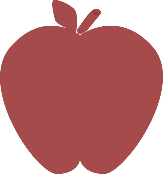 Heart apple clipart png freeuse library Transparent Apple Clip Art at Clker.com - vector clip art online ... png freeuse library