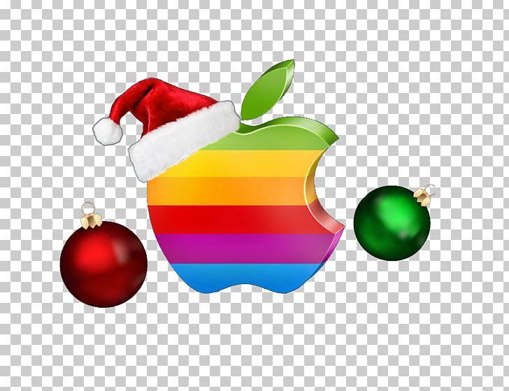 Apple christmas clipart