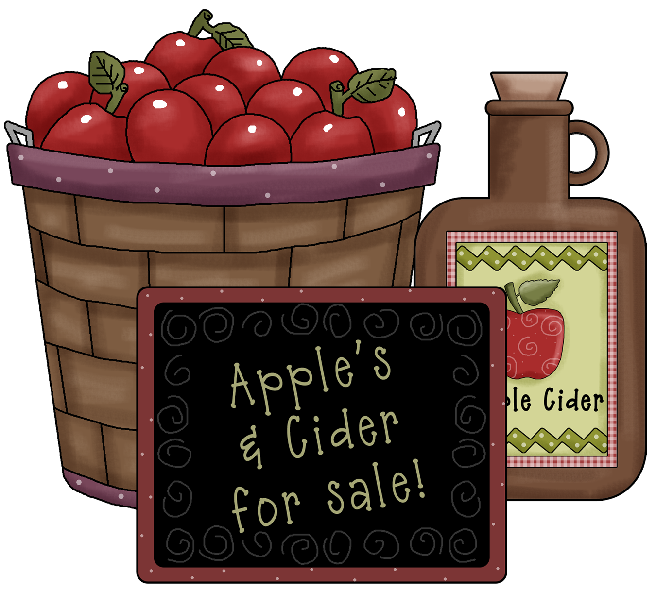 Free hot apple cider clipart clip art library download So American Folk Art......... |