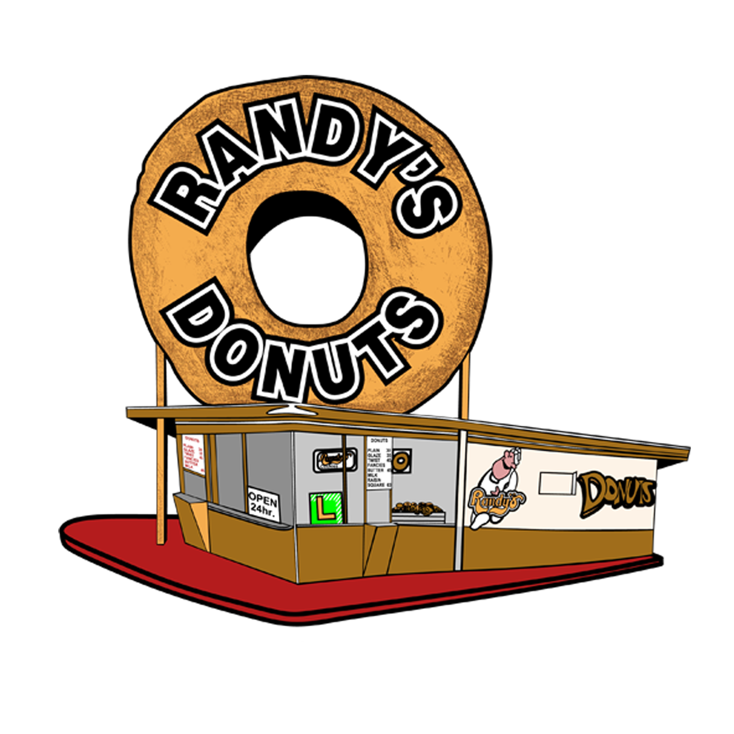Apple cider donut holes free clipart free Menu – Randy's Donuts free