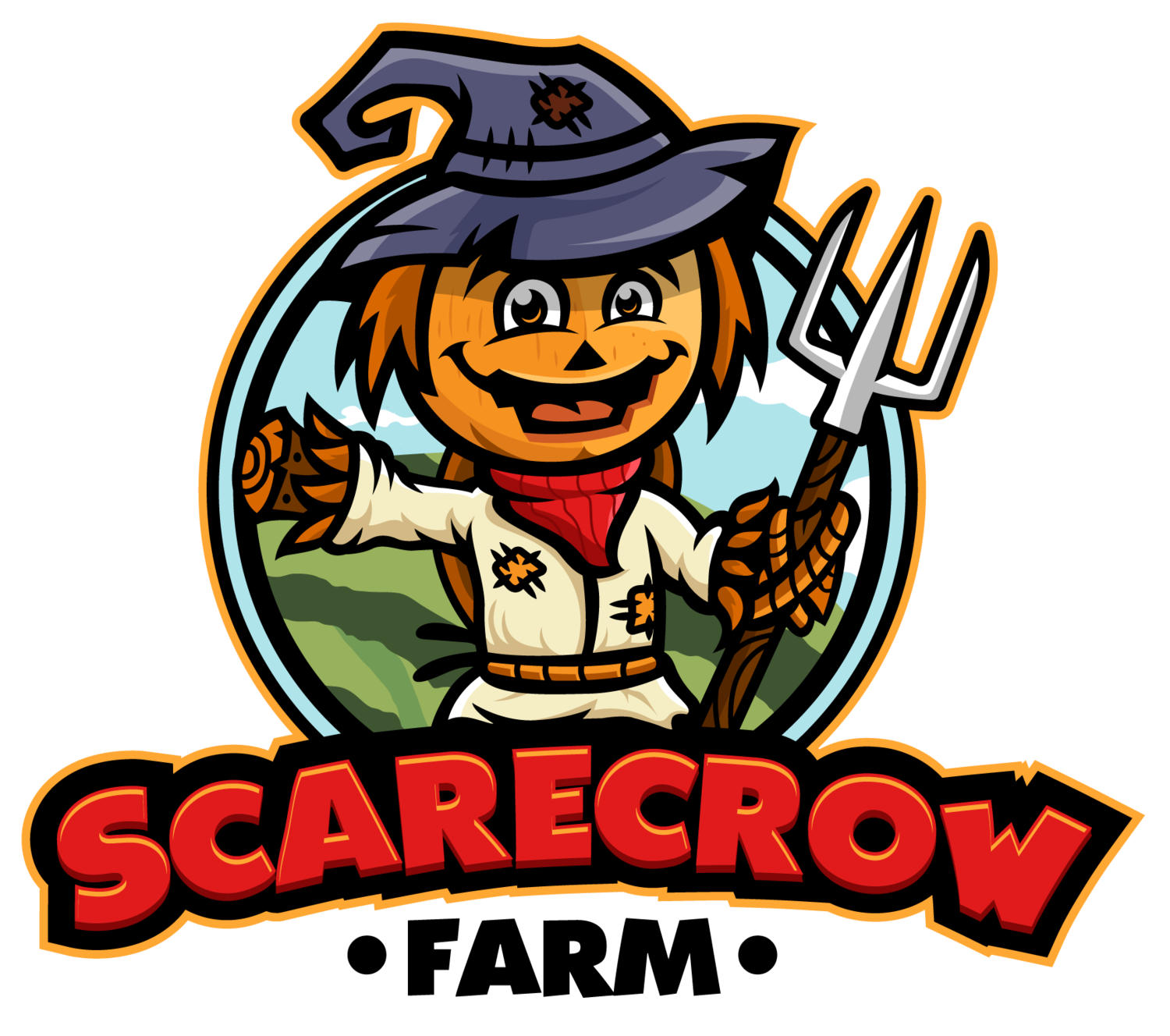 Family apple picking clipart clipart library About — Scarecrow Farm clipart library