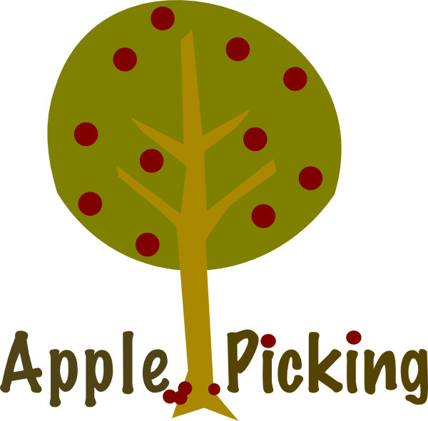 Family apple picking clipart black and white download Quotes about Apple picking (35 quotes) black and white download