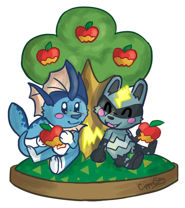 apple picking clipart #9
