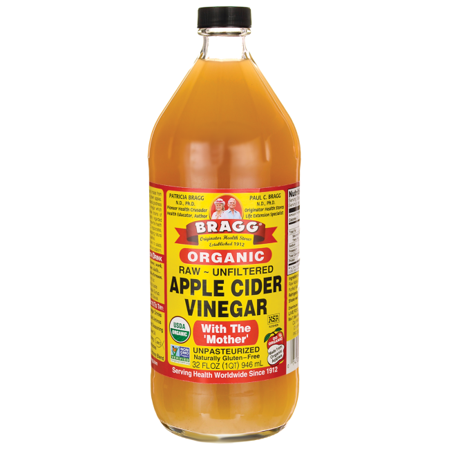 Apple cider vinegar clipart banner royalty free Bragg Organic Raw Apple Cider Vinegar 32 oz. – UrbanMakes banner royalty free