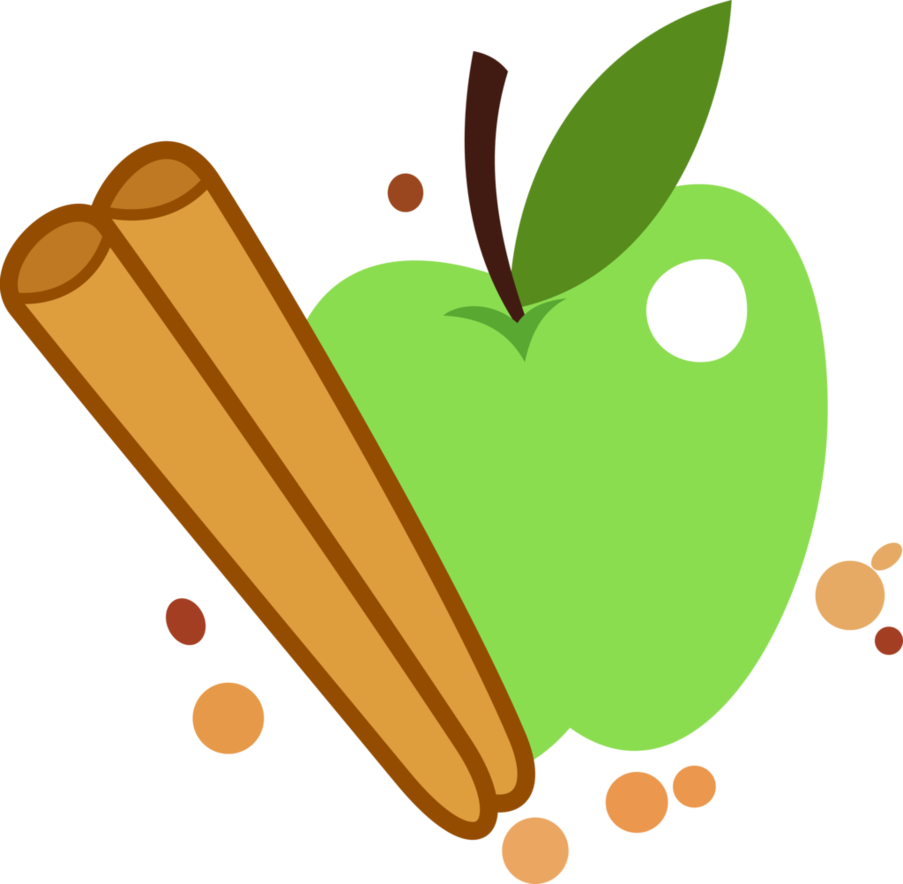 Apple cinnamon clipart clip art free stock Apple Cinnamon Cutie Mark by ChainChomp2 on DeviantArt clip art free stock