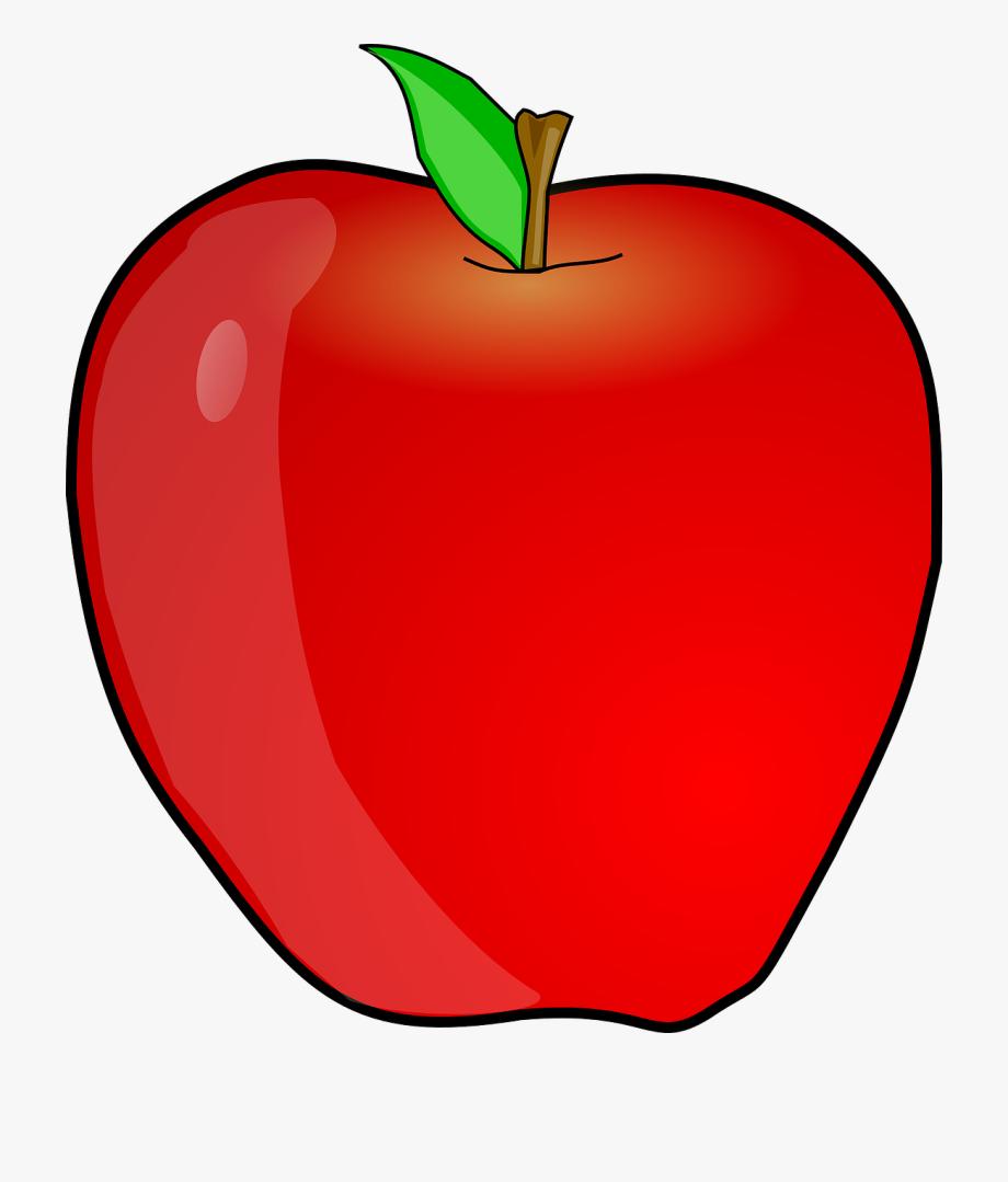 Teacher apple images clipart banner transparent Teacher Apple Clipart Free Clipart Image - Transparent Background ... banner transparent